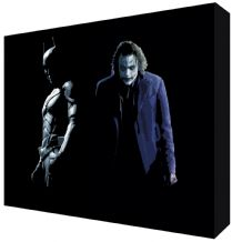 Batman & Joker Canvas Art - NEW - Choose your size - Ready to Hang